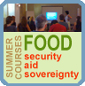 Summer courses on Food Security, Aid, Sovereignty
